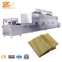 Tunnel Type Industrial Microwave Dryer Bean Products Cocoa Drying Machine Manufactures