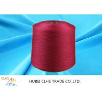100% Staple Spun Polyester 40 / 2 , High Tenacity Virgin Raw Staple Spun Yarn Manufactures