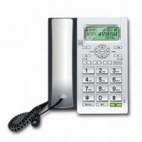 Corded Telephone with 20 Minutes Digital Answer Machine and Large Buttons for Easy Use Manufactures
