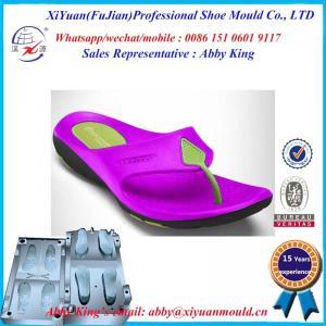 China New bi-color High Quality Man EVA Flip Flops Slipper mold on sale