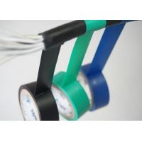 Ventilation Colored PVC Electrical Tape High Temperature High Voltage Manufactures