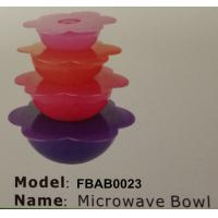 FBAB0023 for wholesales food-grade pp plastic microwave bowl set Manufactures