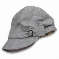 Women's Hat in Fashionable Design, Various Colors are Available, Customized Designs are Accepted Manufactures