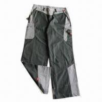 Trousers, Knee Pocket, 2 Tight Pockets, Contrast Part on Bottom, T/C 65/35 21/2 x 10, 72 x 40 Canvas Manufactures