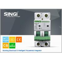 PV system 1P 6a 24v DIN Rail DC MCB Solar system circuit breaker waterproof electrical circuit breaker box Manufactures