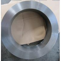 Hard Alloy Tungsten Carbide Roll Rings / Black Silicon Cemented Carbide Rolling Ring for high speed rolling mill Manufactures