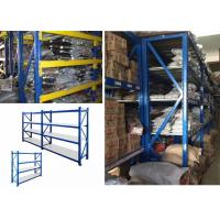 Adjustable Heavy Duty Warehouse Shelving , Heavy Duty Pallet Racking System Manufactures