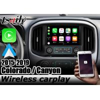 China Carplay interface for Chevrolet Colorado GMC Canyon android auto youtube box by Lsailt Navihome on sale