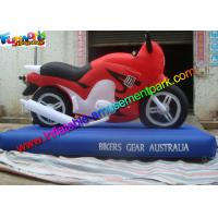 Customized Advertising Inflatables Motorcycle Replica , Inflatable Motorbike Model Manufactures