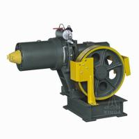 64dB Geared Elevator Traction Machine / Motor , VVVF Drive YJ200 Manufactures
