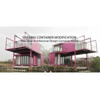 Convenient Transport Container Homes , 40ft Luxury Mobile Homes For Living Manufactures