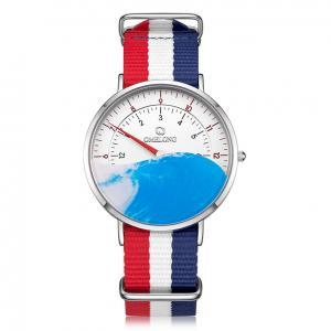 China 6mm Ultrathin Quartz Stainless Steel Watch , Single Needle Classic Digital Scale Watch on sale