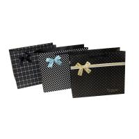 Cute Dots Paper Party Bag Decorating with butterfly bow for Advertising Packing Manufactures