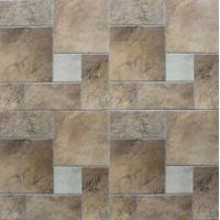 Ancient Ceramic Tile Flooring / Outdoor Patterned Floor Tiles Clear And Vivid Designs Manufactures