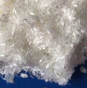 Quality 25mm Concrete Pet Fiber Staple/100% Pet Flakes Virgin Polyester Staple Fiber/PET fiber for sale