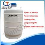 Biological freezing cryogenic tanks 30 L ln2 dewar tank in wedding industry Manufactures