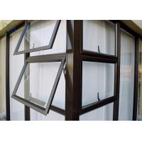 Residential Aluminum double Awning Window Customized Deocration Manufactures