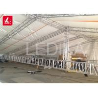 Structural Space Framework Curved Stage Roof Truss For Stage Light Event Manufactures