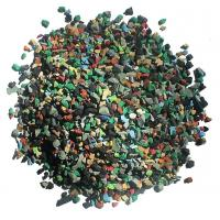 Skid Proof Artificial Grass Rubber Granules Multi Colors For Training Places Manufactures