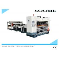 Type NC Roll To Sheet Cutting Machine Exquisite Printing Pattern 380V 50Hz Manufactures