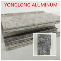 Marble Texture Aluminium Kitchen Profile Annealing Treatment T1 T4 T5 Manufactures