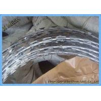 Hot Dipped Galvanized Razor Barbed Wire for Prison Protect Fence Manufactures