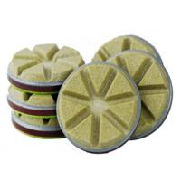 High Speed Diamond Floor Polishing Pads Convenient Without Left Waterlogging Manufactures