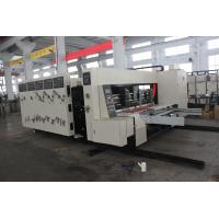 Corrugated Carton Box Making Machine With Feeding / Slotter / Printeing Machine Manufactures