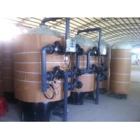 Multi Valve  Water Pretreatment System 10M3 Automatic Sand Filter Manufactures