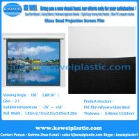 China Glass Bead Projection Screen Film on sale