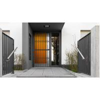 6063 - T5 Aluminum Framed Decorative Security Doors Powder Coating Manufactures