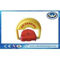 CE Approved car parking space protector , Remote Control Parking Barrier Lock Manufactures
