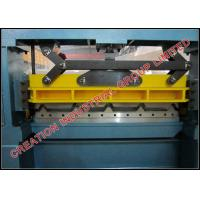 China Prepainted / Zinc Steel Roofing Sheets Manufacturing Machine With PLC Controller on sale