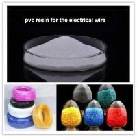 China Plastic raw material standard PVC resin SG5 K65 pvc resin suspension grade for electrical wire on sale