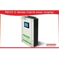 China 5500W Hybrid Solar Inverter / Hybrid Solar Pure Sine Wave Inverter  With Touch Display on sale