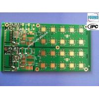 High TG FR4 Multilayer PCB Green pcb 1 oz copper thickness through hole pcb Manufactures