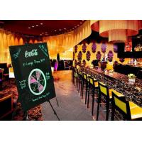 Reusable Light Write Erasable LED Message Board Changeable Menu LED Display Manufactures