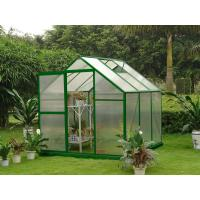 China Small 10mm UV Polycarbonate Hobby Mini Greenhouse for Garden and Yard 6' X 6' on sale