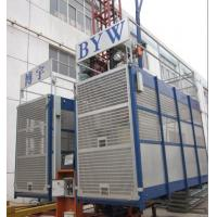 Frequency Construction Material Hoists 33m / min in Lifting Speed Used for Oil Fields Manufactures
