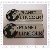 Custom metal name plate, sign plaque and sign plates, tailored zinc alloy plaques, Manufactures
