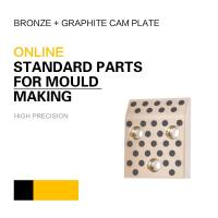 Mould DME Standard Elements Bronze Graphite Cam Plate For Injection & Die Casting Moulds Manufactures