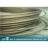 0.5mm - 5mm Titanium Alloy Wire Anti-corrosion High Strength For Medical Manufactures