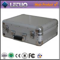 Aluminum china wholesale dvd duplicator case portable flight case To Fit 80 CD