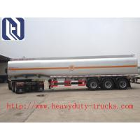 V - shape Bulk Cement Tank Trailer 30CBM - 80CBM Q345 Carbon Steel with Weichai Engine and Bohai compressor Manufactures