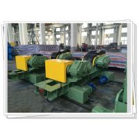 Buy cheap CSA Wind Tower Production Line Dual Driven Shot Blasting 80T Turning Roll from wholesalers