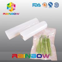 Plain Transparent Aseptic Food Vacuum Seal Bag Packaging For Retaining Freshness Manufactures