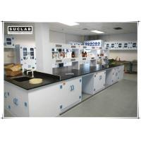 PP Chemical Lab Furniture With Two Layers Reagent Rack In Laboratory Manufactures