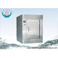 Recessed Wall Double Door Autoclave With Sanitary 0.22 μm Air Admission Filter Manufactures