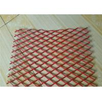 Colorful Expanded Stainless Steel Mesh with Firm Structure Diamond Hole Manufactures