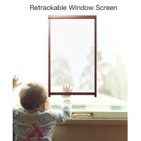 Anti mosquito & bug Retractable fiberglass Rollup flyscreens price Manufactures